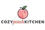 cozy peach kitchen