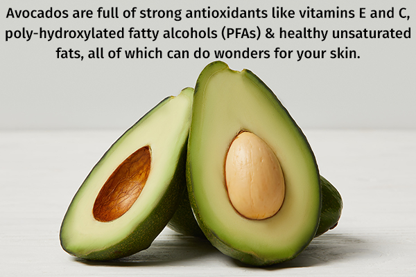 avocados can do wonders for your skin