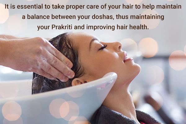ayurvedic hair care measures