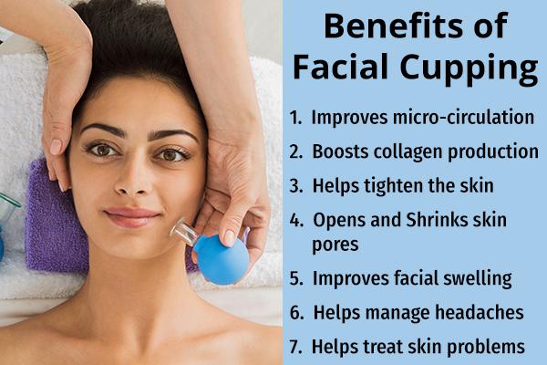 facial cupping benefits