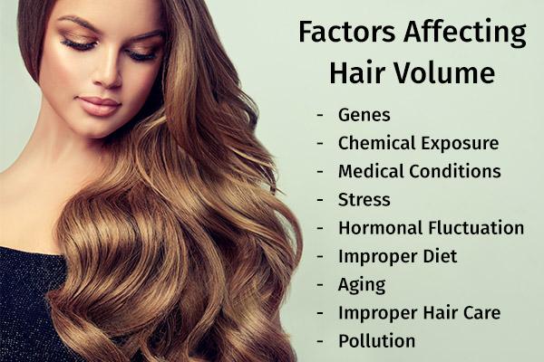 factors that influence hair volume