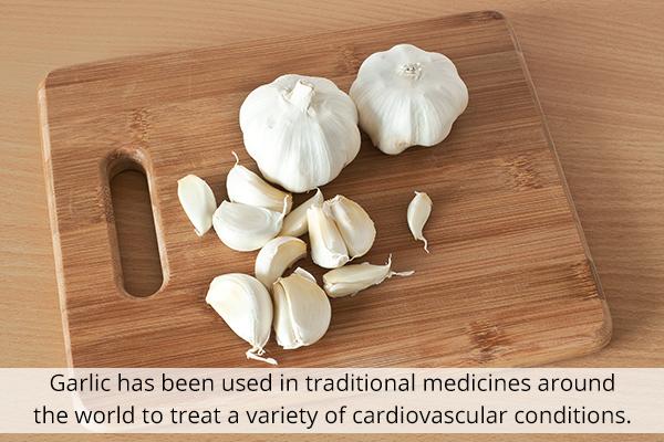 garlic consumption can improve heart health