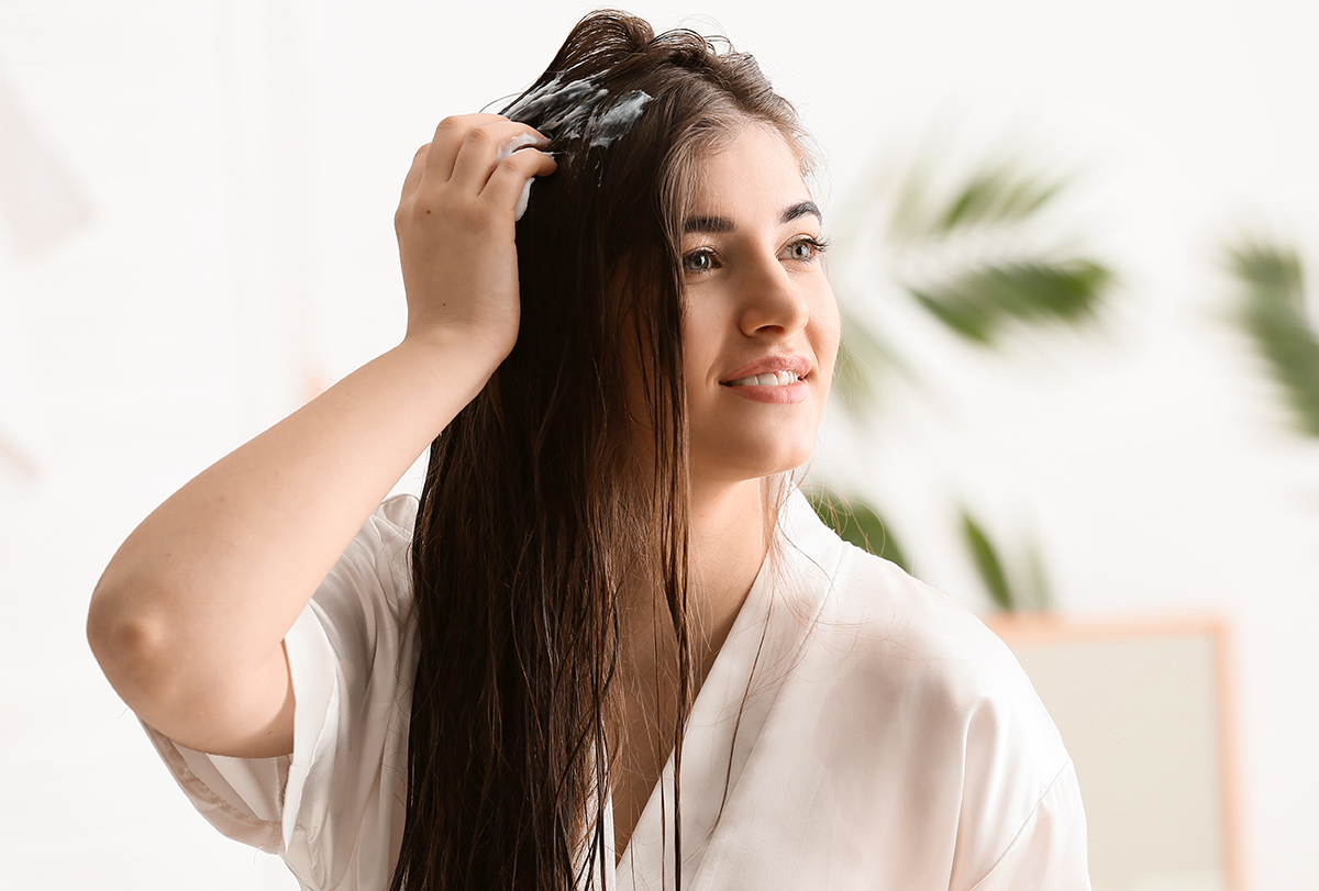 make coarse hair soft and silky