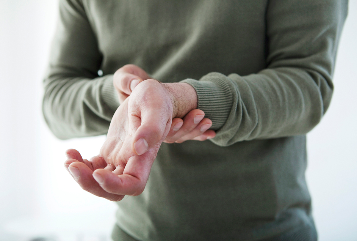 nerve damage in the hands