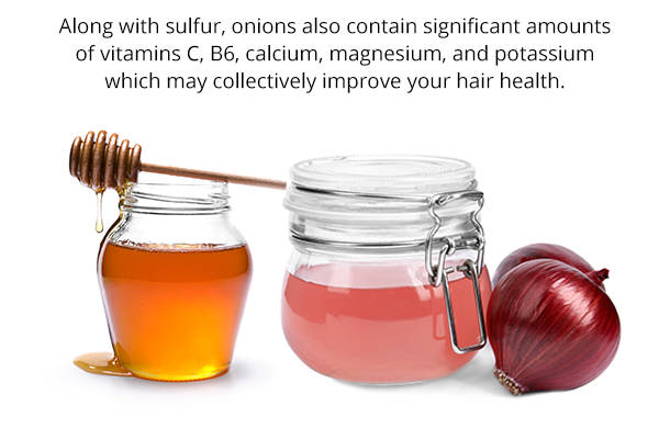 onion and honey for hair growth