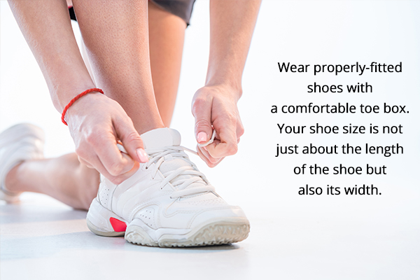 measures to prevent ingrown toenails