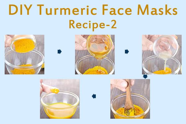 diy turmeric face mask recipe - 2