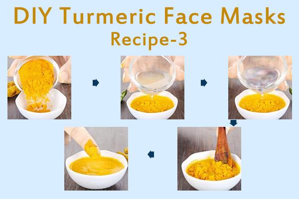 diy turmeric face mask recipe - 3