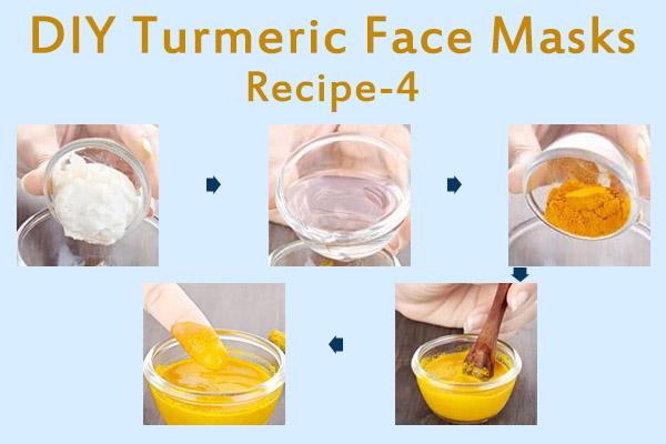 diy turmeric face mask recipe - 4