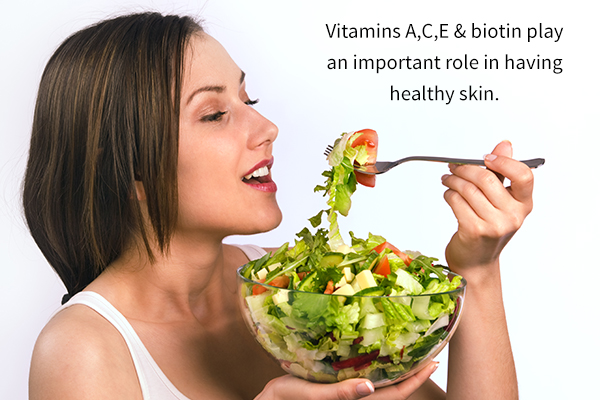 vitamins and minerals essential for maintaining glowing skin