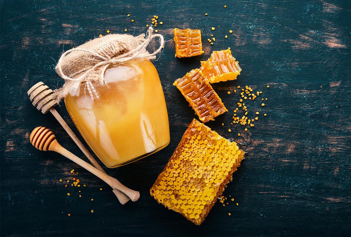 honey for skin and hair
