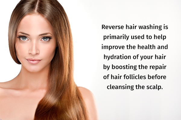 reverse hair washing benefits
