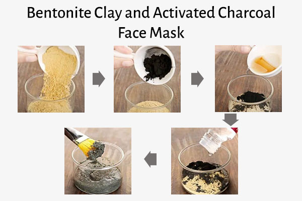 bentonite clay and activated charcoal face mask recipe