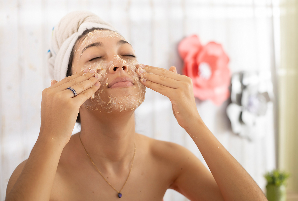 diy oatmeal mask for eczema