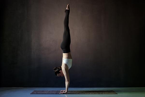 the handstand (adho mukha vrksasana)