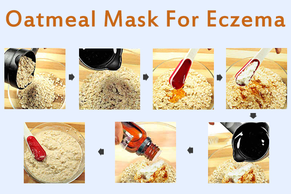 how to prepare an oatmeal mask for managing eczema