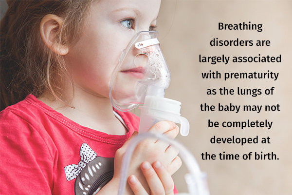 what causes breathing problems in babies?