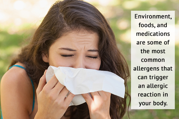 common allergens that can trigger an allergy