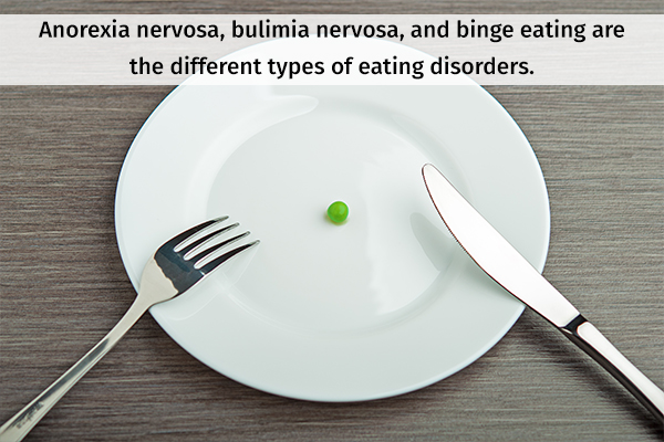 different types of eating disorders