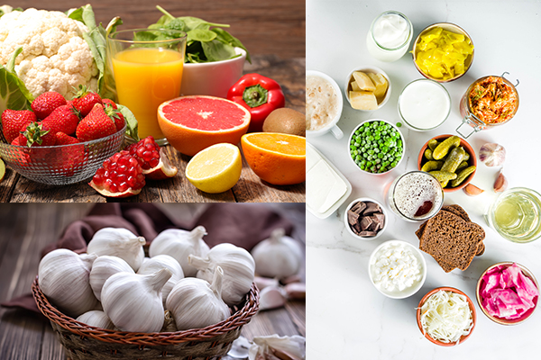 foods that can help manage allergy flare-ups