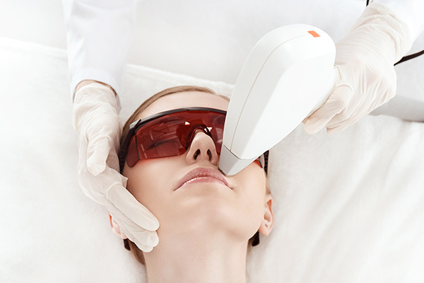 laser treatment is an effective method for lip hair removal