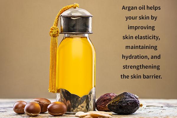 use argan oil that exhibit antiaging