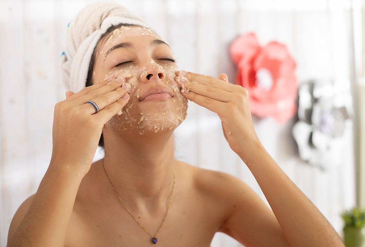 oatmeal face mask for skin issues