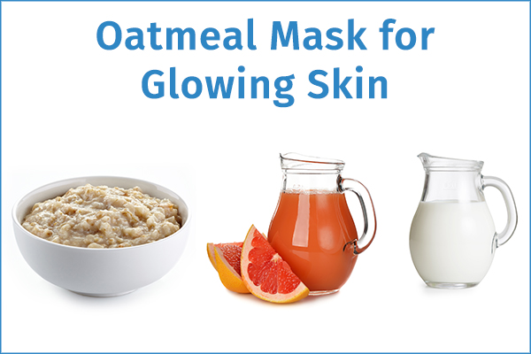 oatmeal face mask for glowing skin