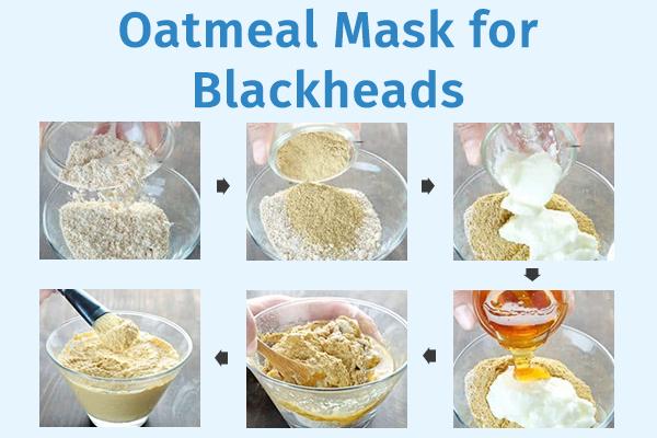 oatmeal mask for clearing blackheads