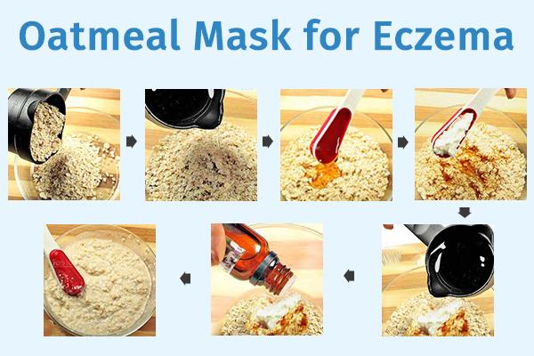 oatmeal mask for managing eczema flare-ups