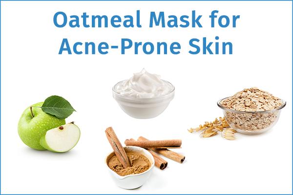 oatmeal mask for acne-prone skin