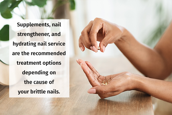 medical treatment for brittle nails