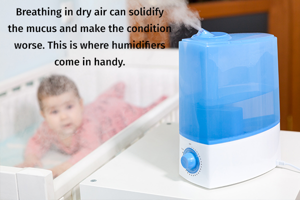 use humidifiers for imparting moisture to air