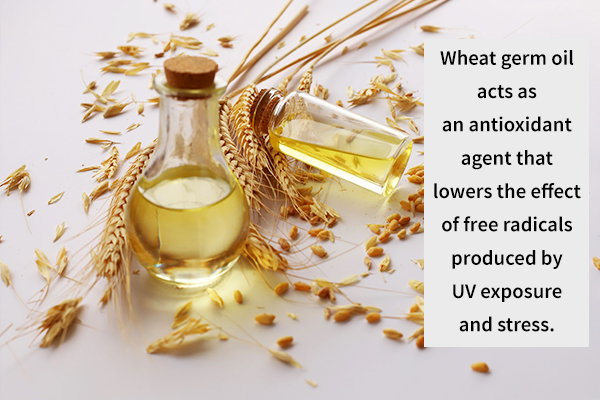 wheat germ oil can smoothen your skin