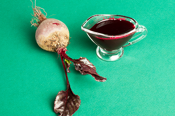 beetroot juice can be used to hide gray hair