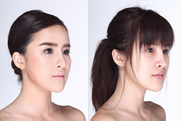 changing your hairstyle can also help hide gray hair