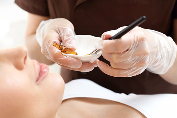 chemical peels can help smooth out crow's feet