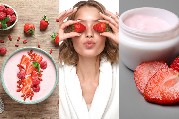 reaping the beauty benefits of strawberries