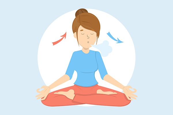 significance of deep breathing during yoga