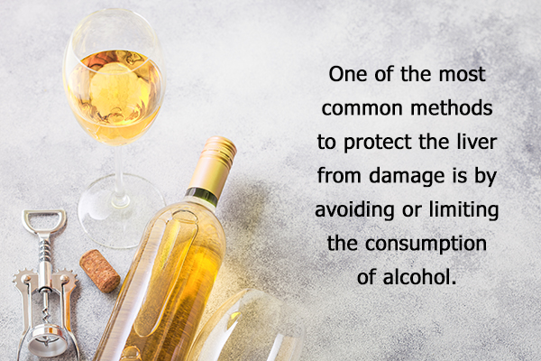 avoid or limit your alcohol consumption
