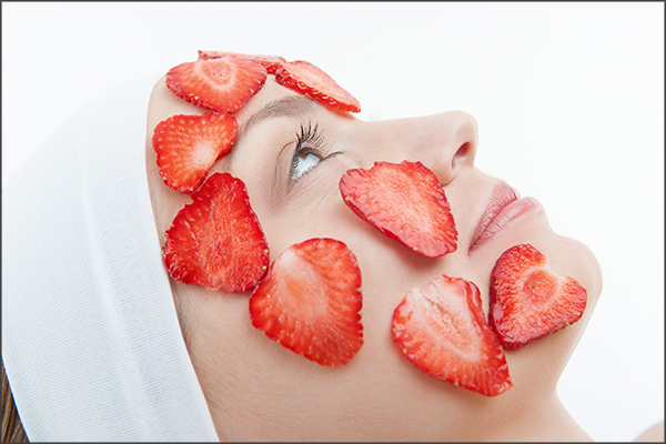 anecdotal beauty benefits of strawberries