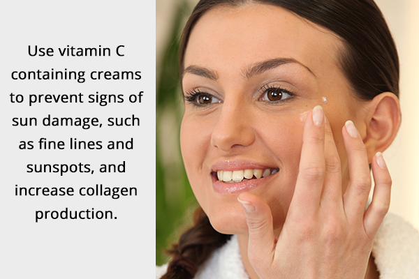topical creams can help manage crow's feet