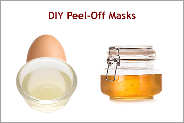 diy peel-off masks can help cleanse your skin