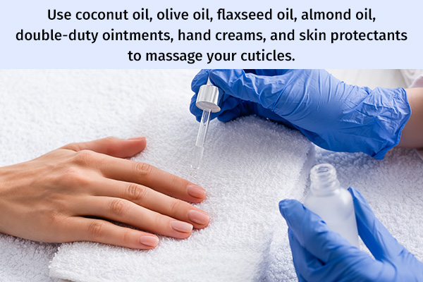 using cuticle serums can help moisturize your nails