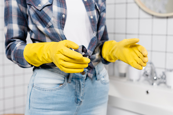 use gloves whenever necessary