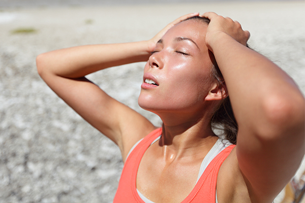 people susceptible to heat-related illnesses