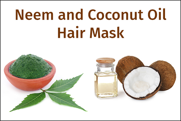 neem and coconut oil hair mask