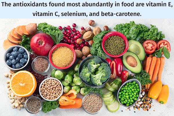 best antioxidant-rich food sources