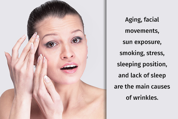 factors contributing to wrinkle formation