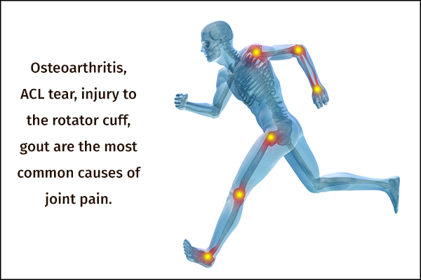 common causes behind joint pain